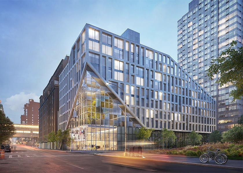 Architectural Rendering of the exterior of the Bevel 42-20 27th Street project located in Queens, New York