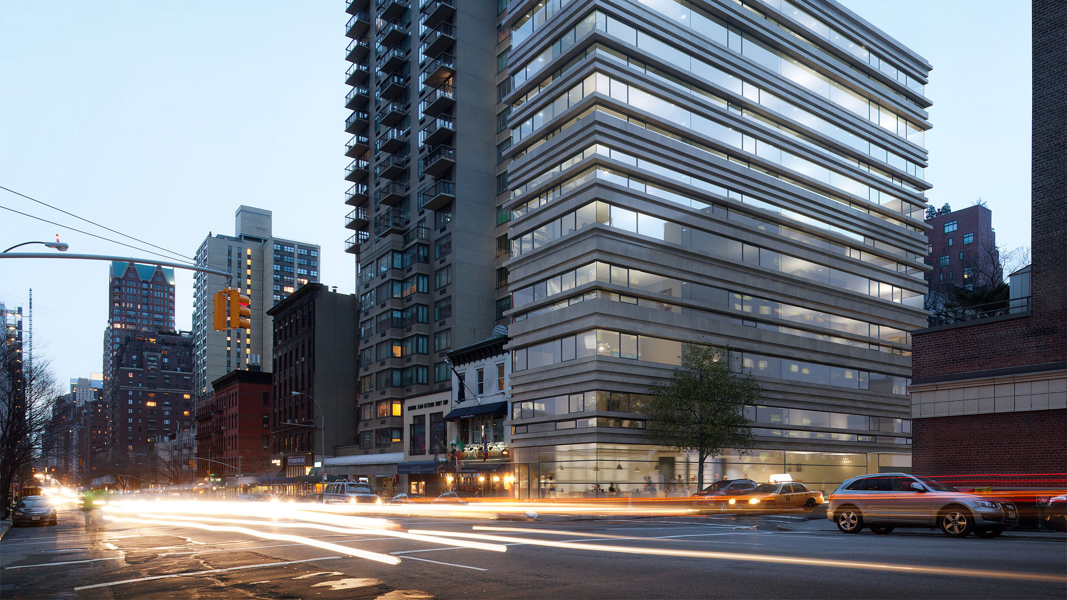 Architectural Rendering of the exterior of the 1444 Third Avenue project located on the Upper East Side, New York City