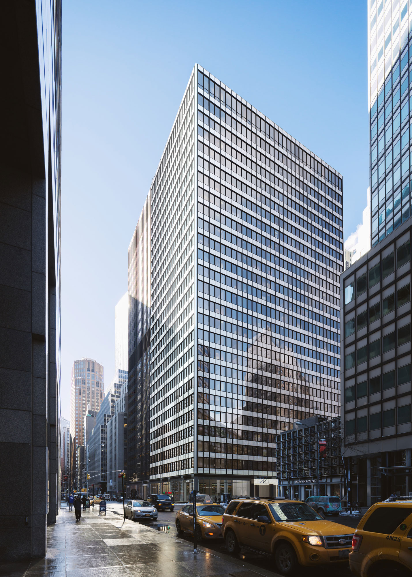 Architectural Rendering of the exterior of the 180 Water Street project located in the Financial District, New York City