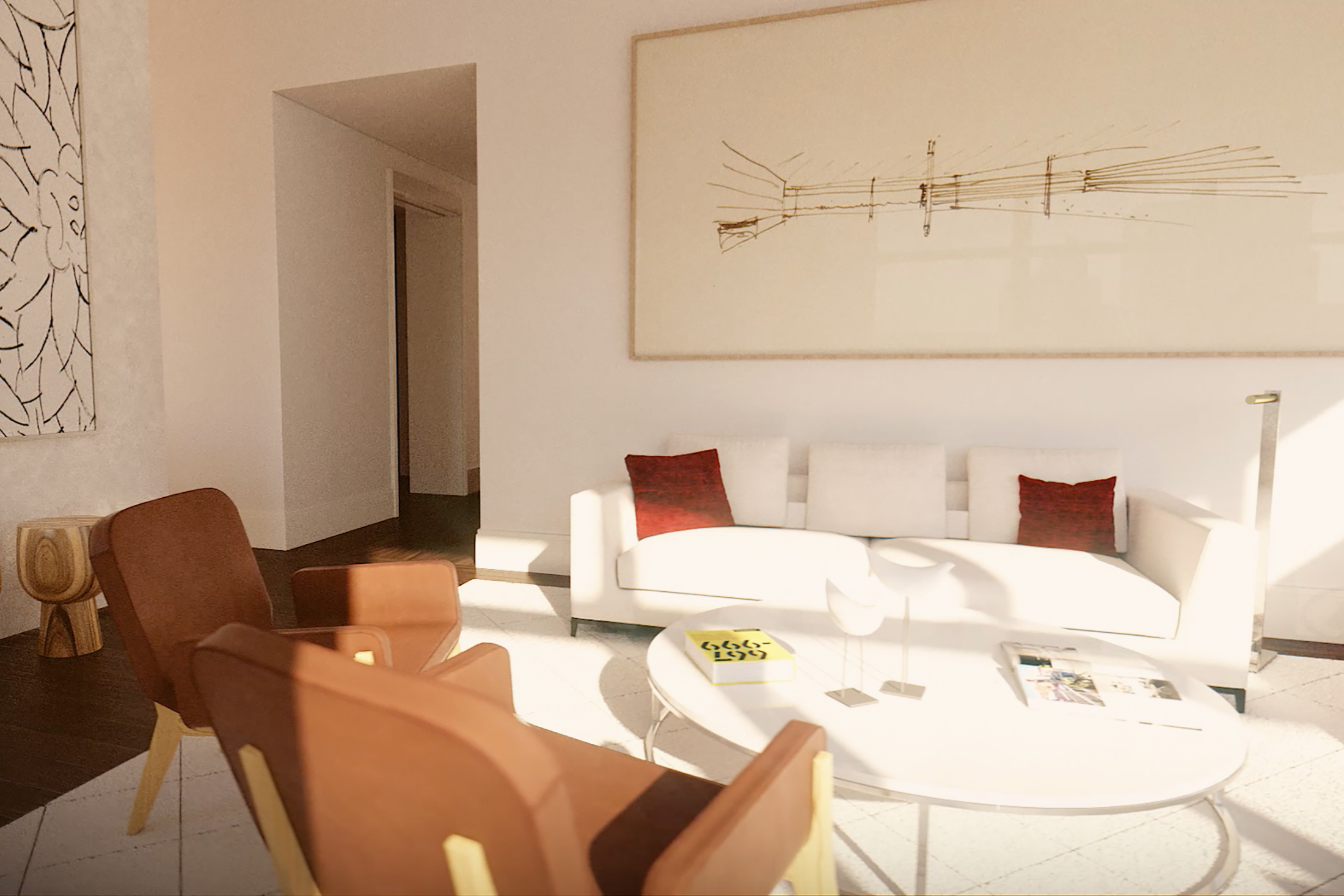 Architectural Rendering of the exterior of the 301 East 50th Street project located in Midtown, New York City