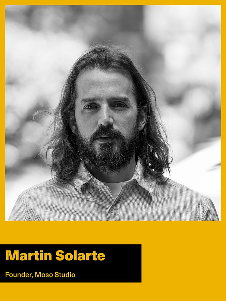 Martin Solarte founder of MOSO Studio New York City